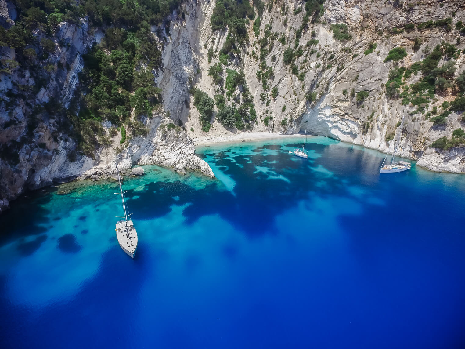 Sailing in Greece yacht charter ionian islands Odysseus 7