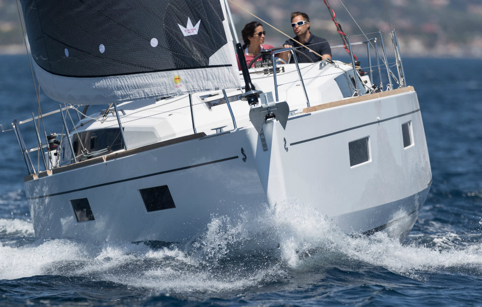 Oceanis 38 Sailing in Greece yacht charter Ionian islands Odysseus