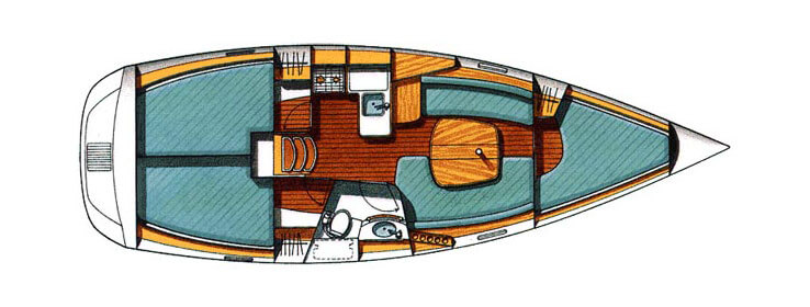 beneteau-oceanis-331-layout