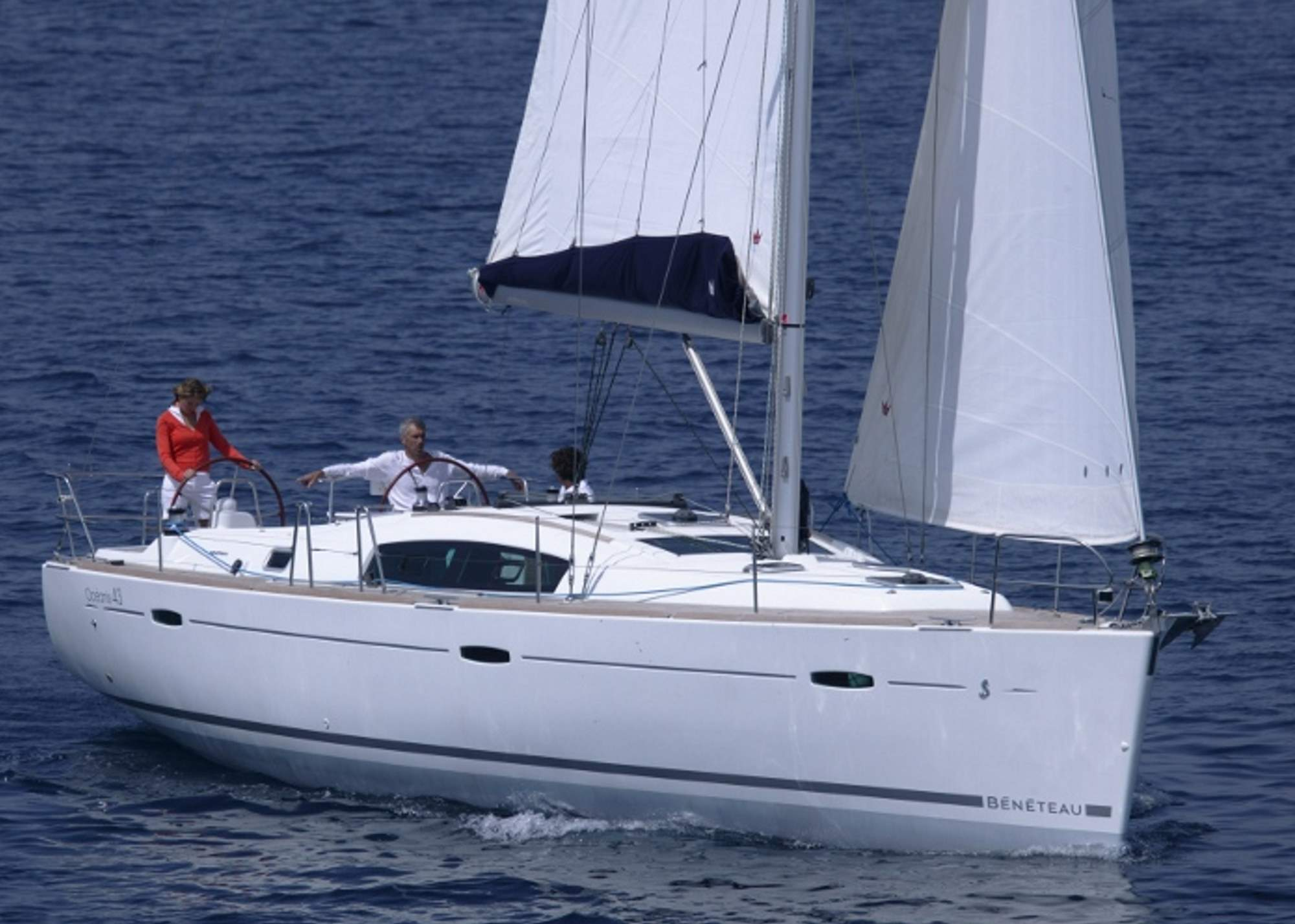 Oceanis 43 2011 Sailing in Greece yacht charter Ionian islands Odysseus