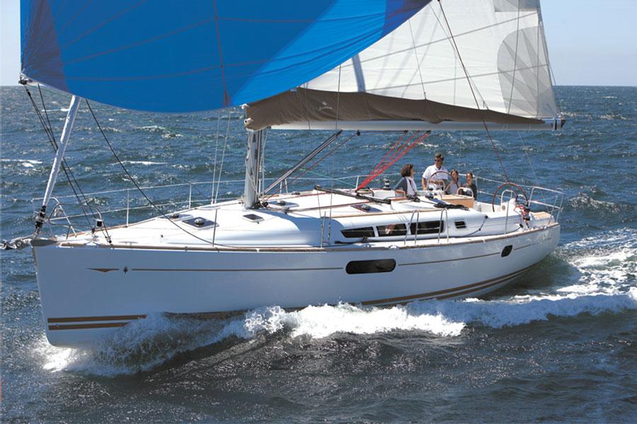Sun odyssey 44i Sailing in Greece yacht charter Ionian islands Odysseus