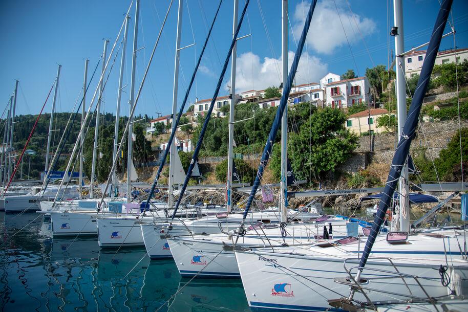 Odysseus Flotilla Holiday Sailing in Greece Ionian Islands