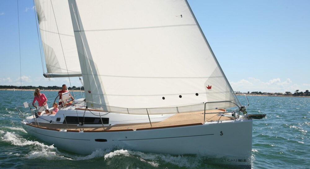Odysseus beneteau Oceanis Oceanis 37 Sailing in Greece yacht charter Ionian islands Odysseus