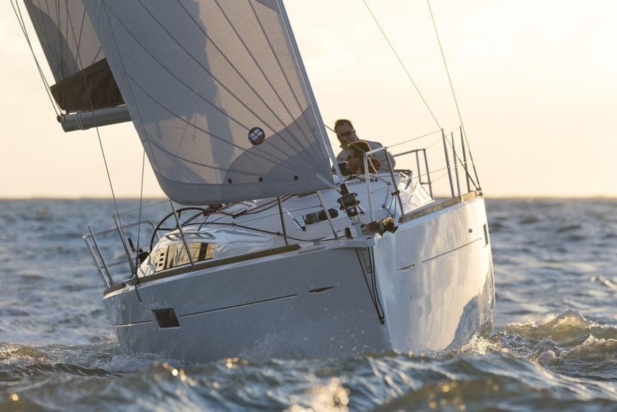 Sun Odyssey 349 Sailing in Greece yacht charter Ionian islands Odysseus